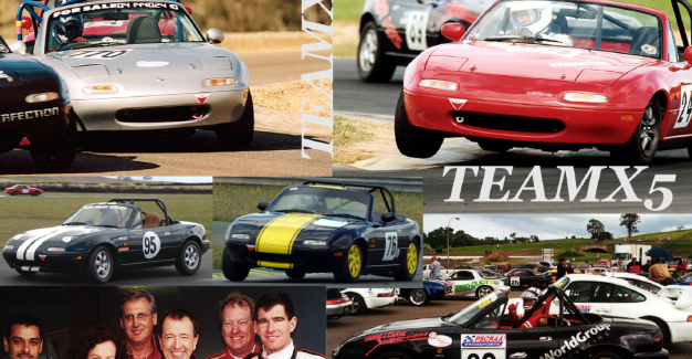 Early MX-5 Club motorsport