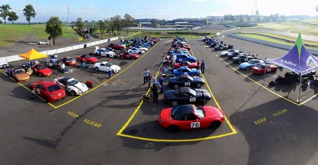 Sydney Motorsport Park South Circuit at track day on 12 April 2015