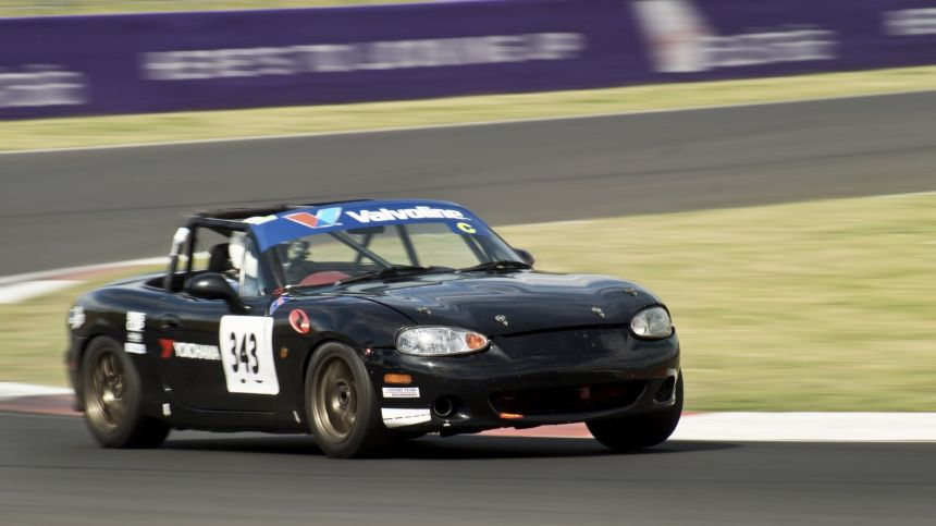 David Johnson at Challenge Bathurst