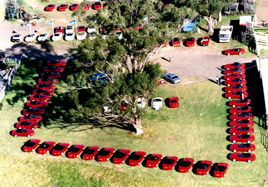 Foundation of the Mazda MX-5 Club of NSW on 24th June 1990