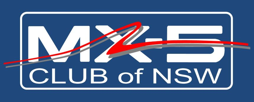 MX-5 Club of NSW regalia logo