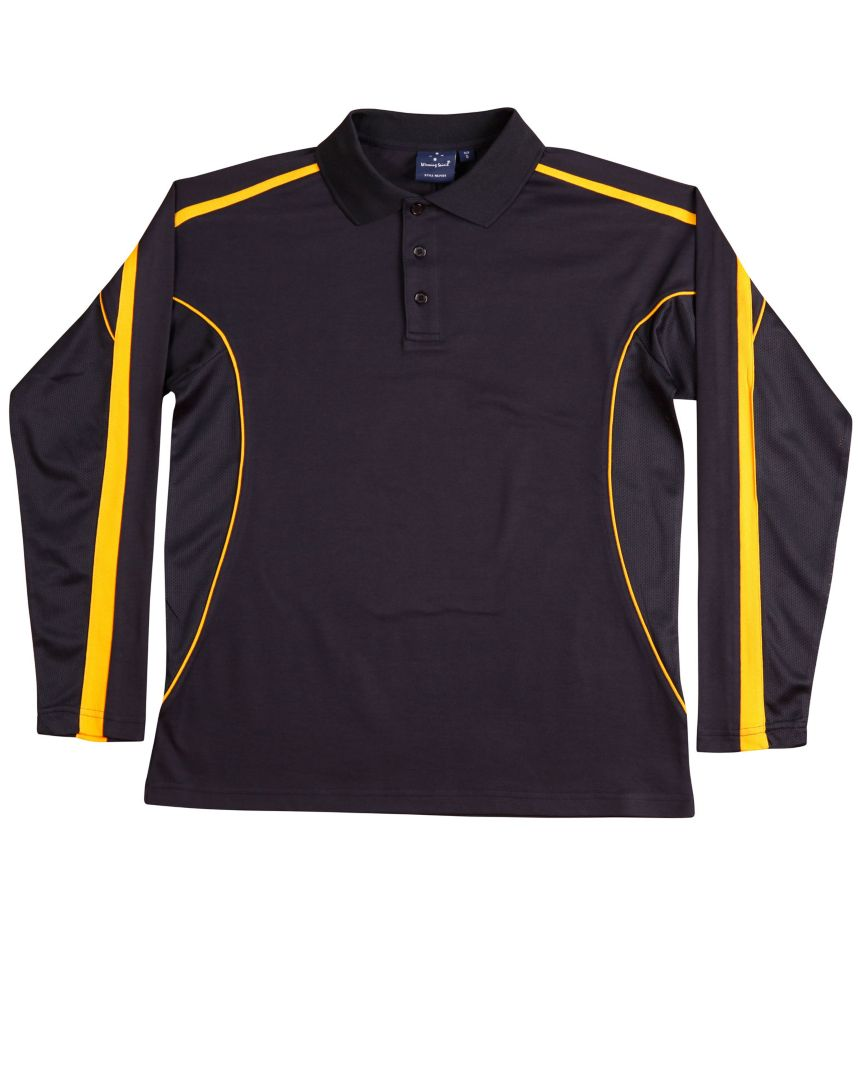 Canberra LS Mens Polo