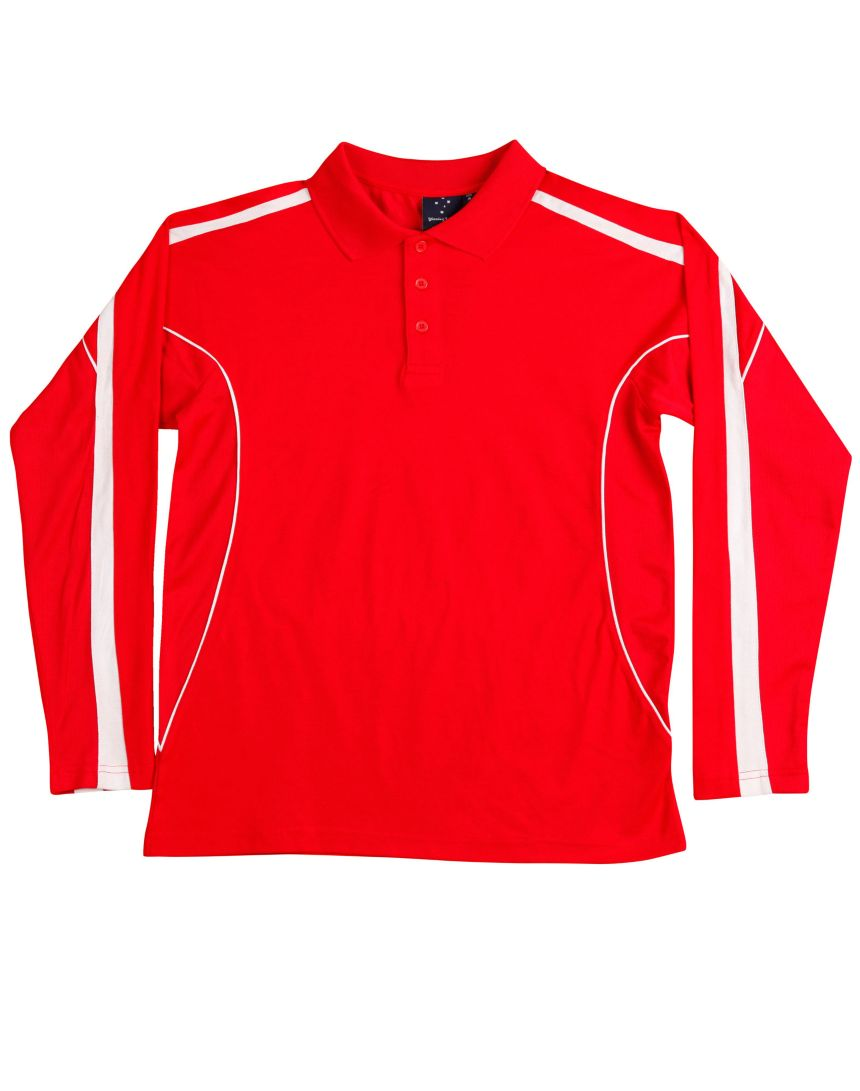 Illawarra Polo Shirt Long Sleeve Mens