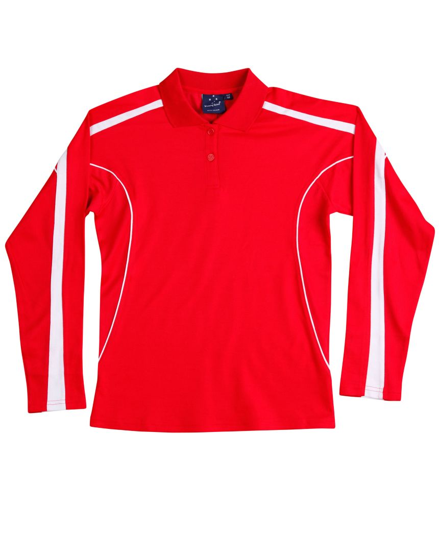 Illawarra Polo Shirt Long Sleeve Ladies