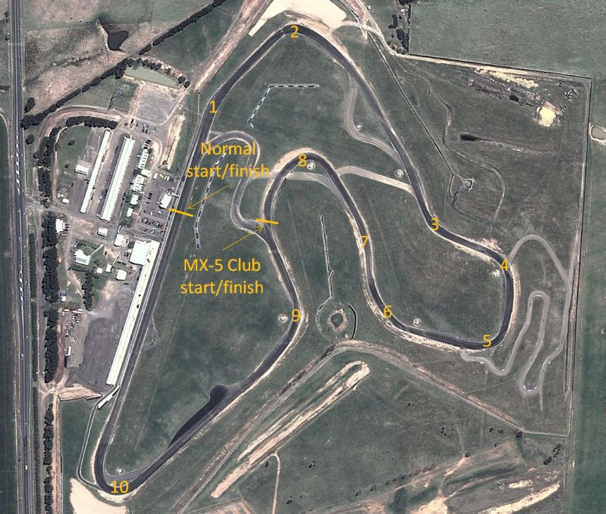 Wakefield Park - Google Map