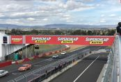 Challenge Bathurst - Glenn Thomas on pit straight