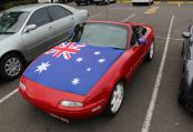 Adam Hughes' NA decorated for Australia Day 2015