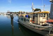 Floating Restaurant at Lakes Entrance