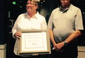 Life Members - Pam and Ray Estreich. Awarded at the 2016 AGM on 21 October 2016.