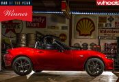 Mazda MX-5 ND is 2016 Wheels COTY