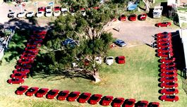 On 24 June 1990, Mazda Australia hosted 90 MX-5s and their owners to a day organised to introduce the new Club. 104 Foundation Members of the Mazda MX-5 Club of NSW were signed up on the day.