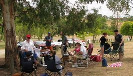 Picnicing at Lace Wallace, Wallerawang