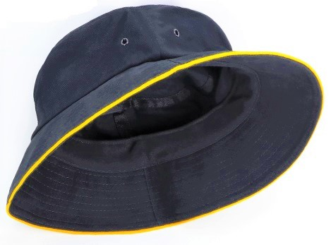 canberra bucket hat with trim