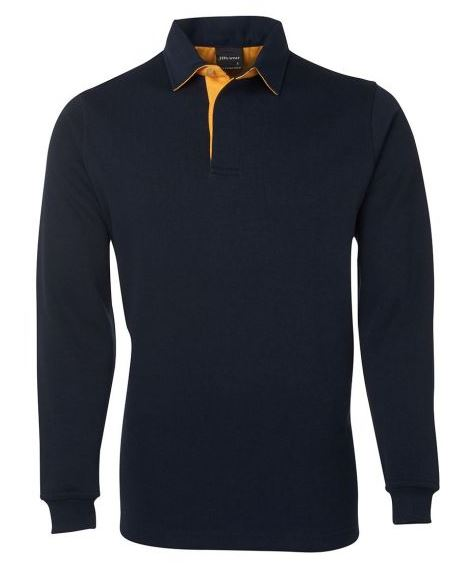Canberra navy gold rugby top