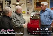 Jay Leno interviews our Club Patron Bob Hall on the 25th anniversary of the Mazda MX-5